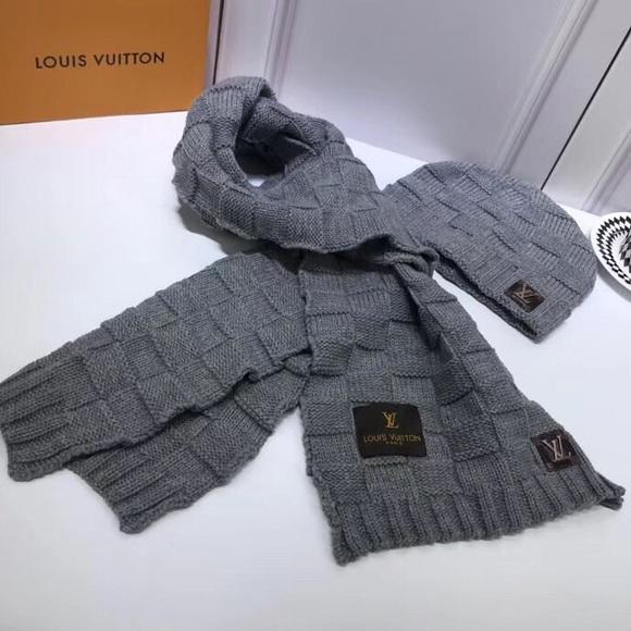4d5ba449651 Louis Vuitton Accessories - Louis Vuitton Hat and Scarf Set